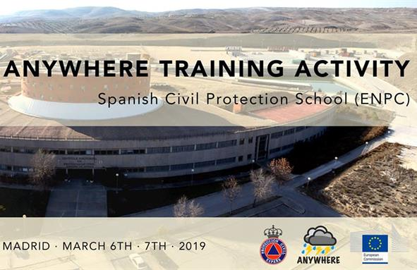 Training activity in Madrid in March.